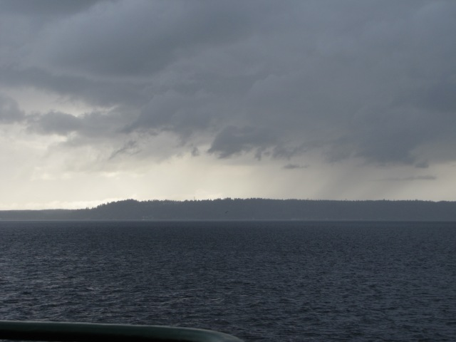 Clouds over Kitsap