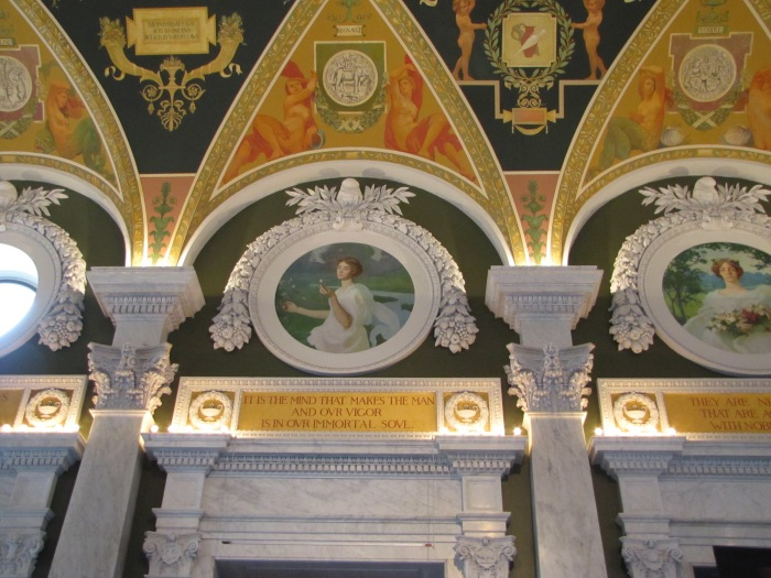 Wall decoration, Library of Congress