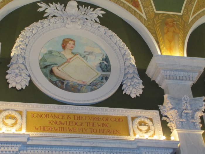 Ignorance, Library of Congress