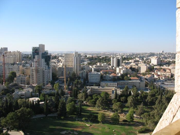 Jerusalem from Hotel