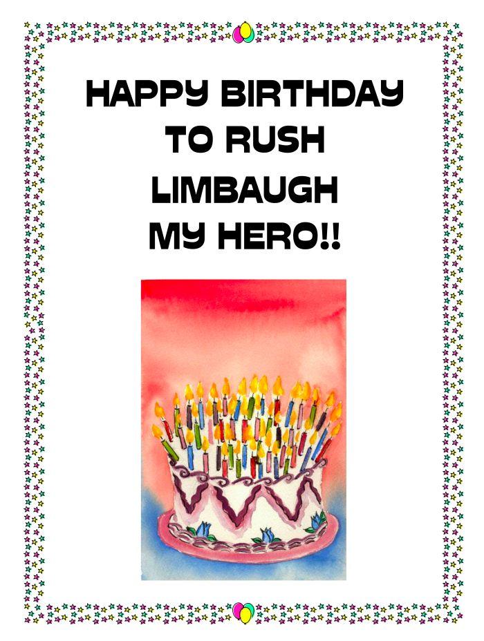 happy birthday to rush