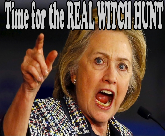 Real witch hunt