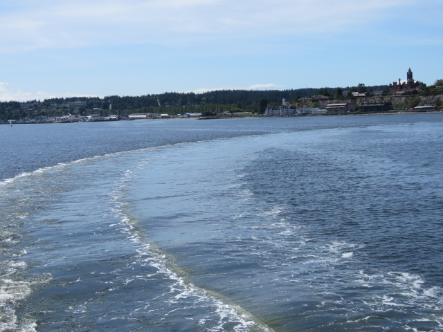 Ferry-wake