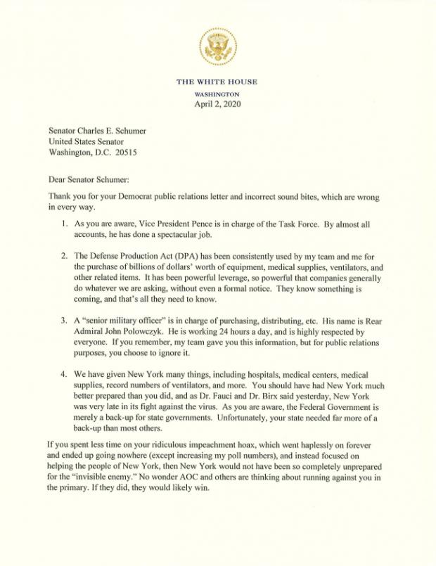Trump-SCHUMER-Letter