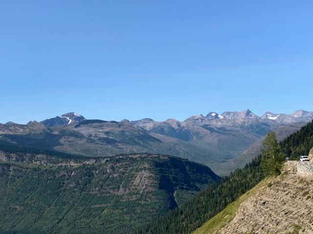 Peaks-glaciers