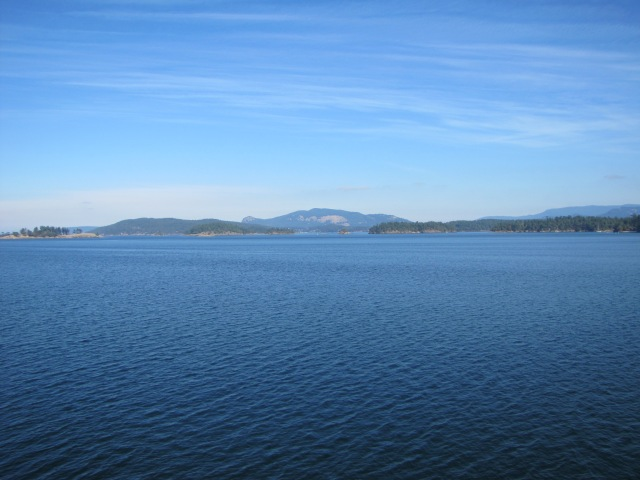 San Juan Islands from Ferry
