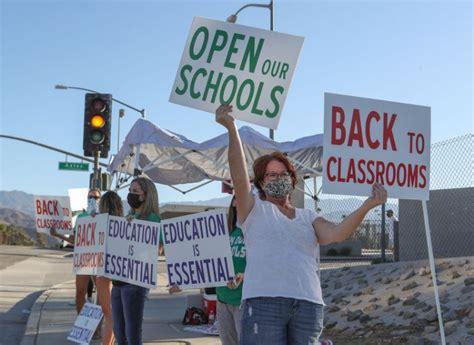 parents demonstrate school