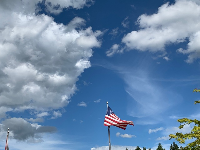 Clouds-flag