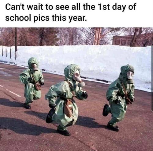 cant-wait-see-1st-day-school-pics-hazmat-suits